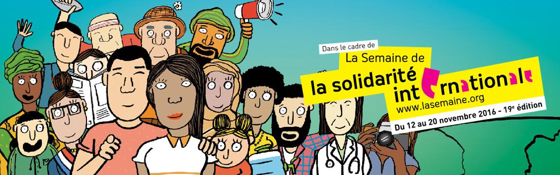 Le Funambule #1 – La Semaine de la Solidarité Internationale