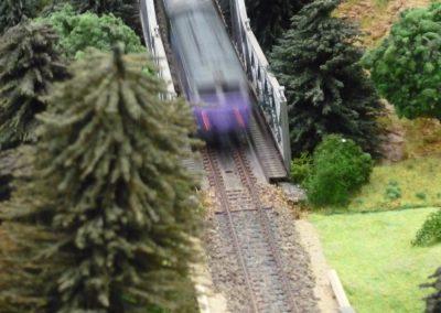 Train déferlant