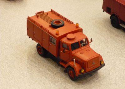 Camion pompier bricolé