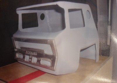 Conception d'un chassis de camion BERNARD