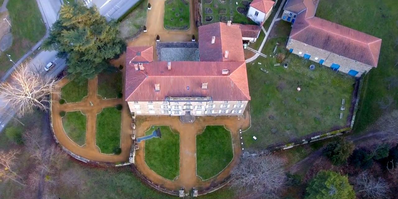 Découverte du château des Bruneaux à Firminy
