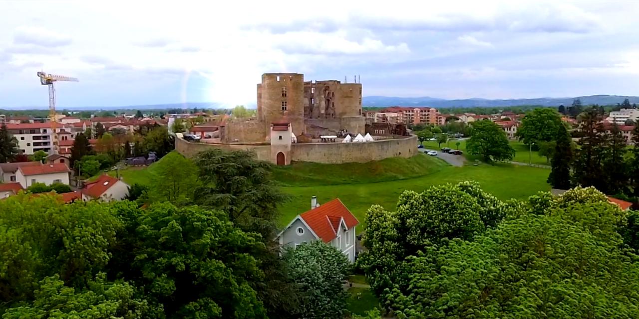 Découverte du château de Montrond les Bains